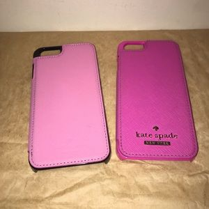 Kate spade ♠️Pink IPhone 6 cases